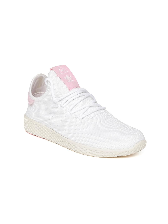 f3b6b356d Buy ADIDAS Originals Women White PW Tennis HU Woven Design Sneakers ...