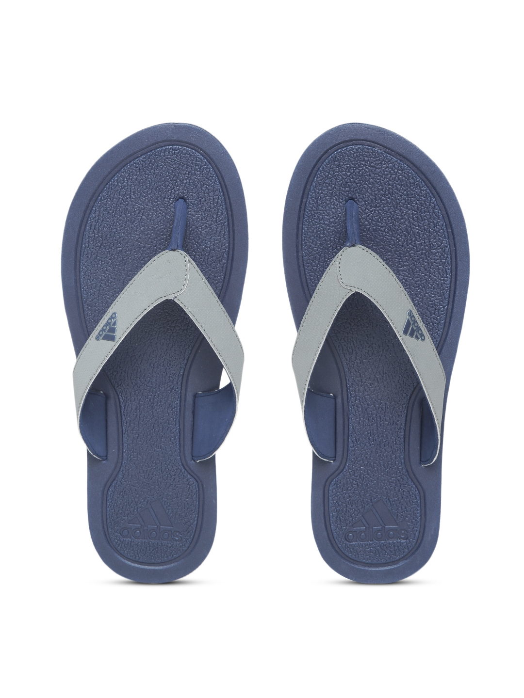 4e1fae6e7714 Buy ADIDAS Men Grey STABILE Solid Thong Flip Flops - Flip Flops for ...