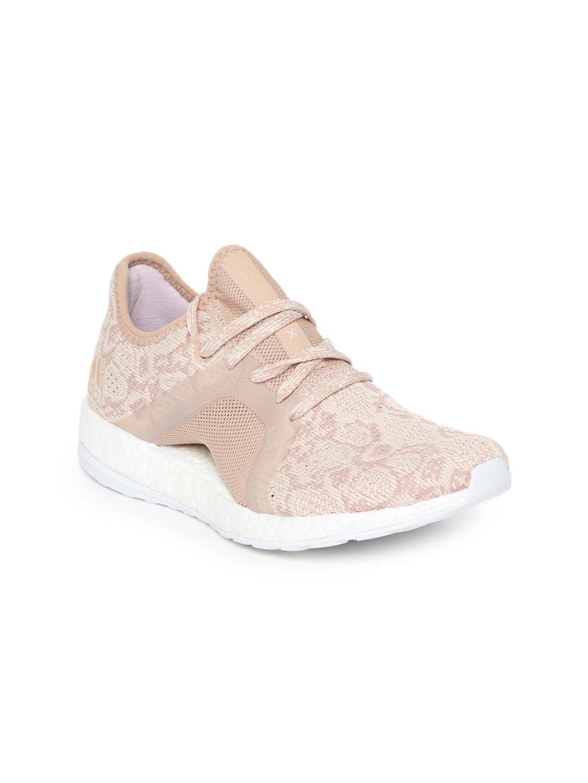 f4ba49c87 Buy ADIDAS Women Beige Pureboost X Element Running Shoes - Sports ...