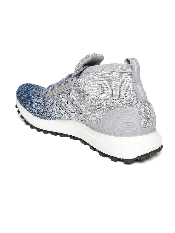 2a204db9e Buy ADIDAS Men Grey   Blue Ultraboost All Terrain Running Shoes ...