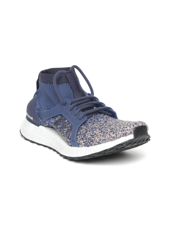 new style d3ea8 5d626 ADIDAS Women Blue ULTRABOOST X ALL TERRAIN Running Shoes