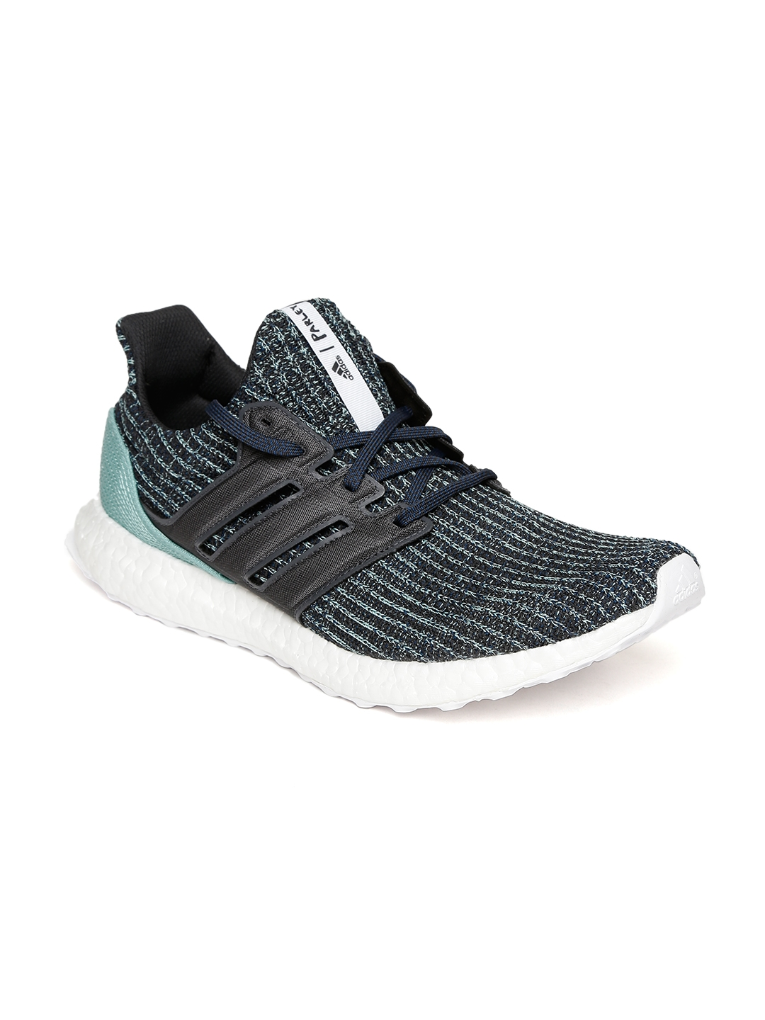 d6a23009e8d Buy ADIDAS Men Blue   Black Ultraboost PARLEY Running Shoes - Sports ...