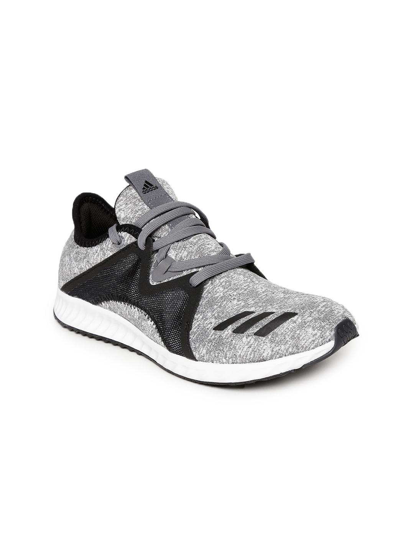 5b8bbf3a8bd3 Buy ADIDAS Women Grey   Black EDGE LUX 2 W Running Shoes - Sports ...