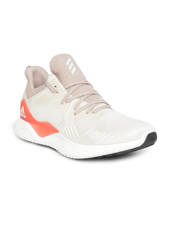 new concept e3a85 08619 ADIDAS Men White ALPHABOUNCE BEYOND M Sports Shoes