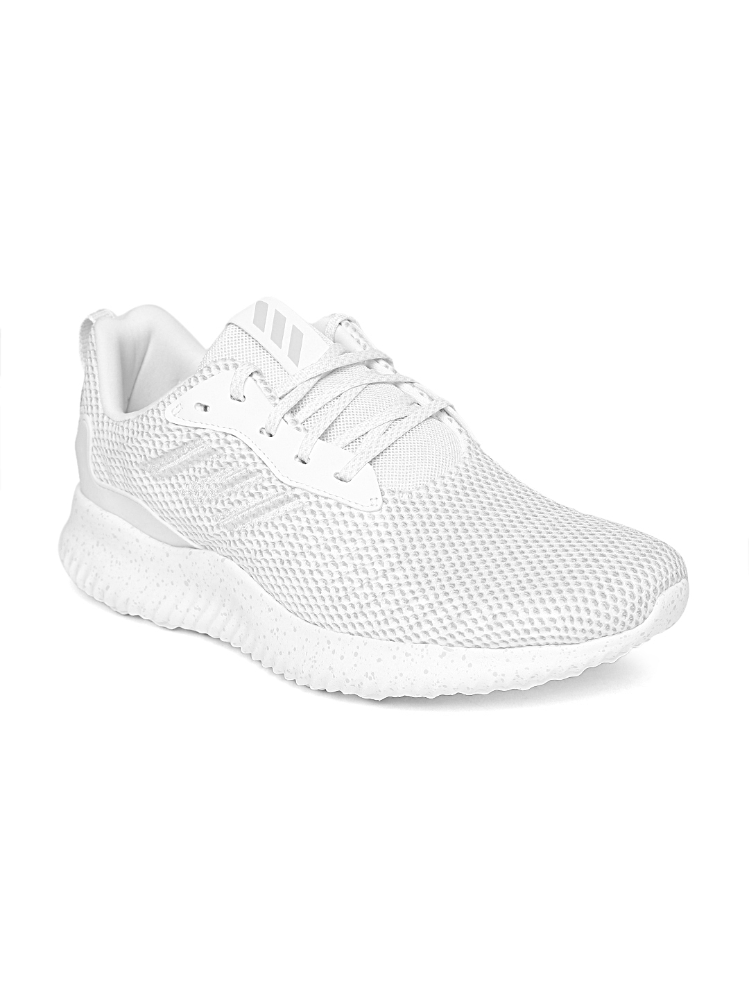 6811440c3ab59 Buy ADIDAS Men White ALPHABOUNCE RC Running Shoes - Sports Shoes for ...