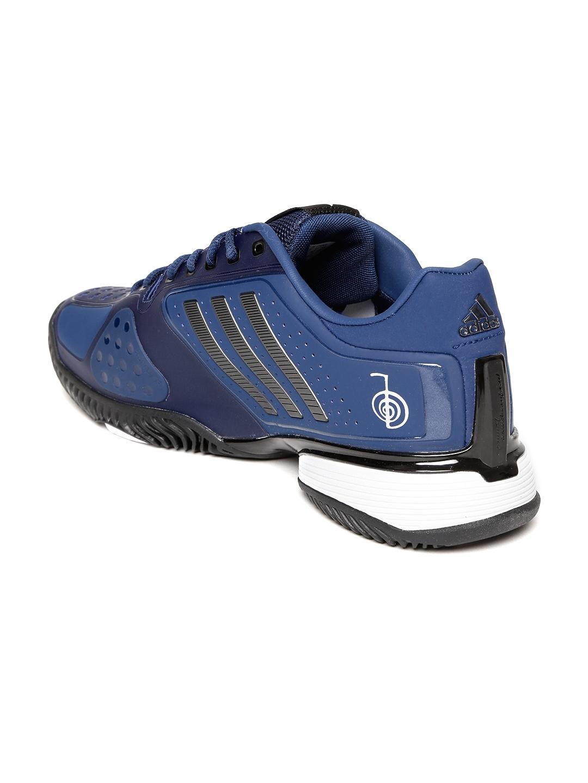 newest 36ae3 0919a Adidas Men Blue NOVAK PRO Tennis Shoes