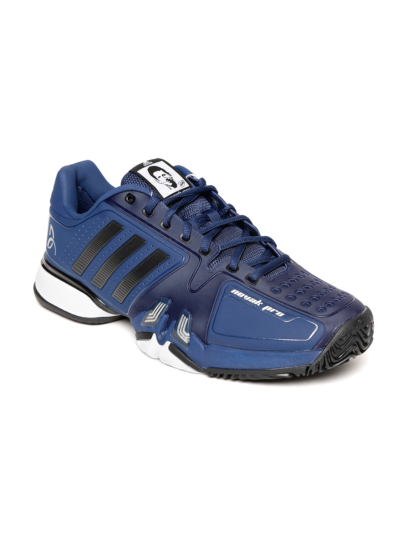 a93016be5208 Buy Adidas Men Blue NOVAK PRO Tennis Shoes - Sports Shoes for Men ...