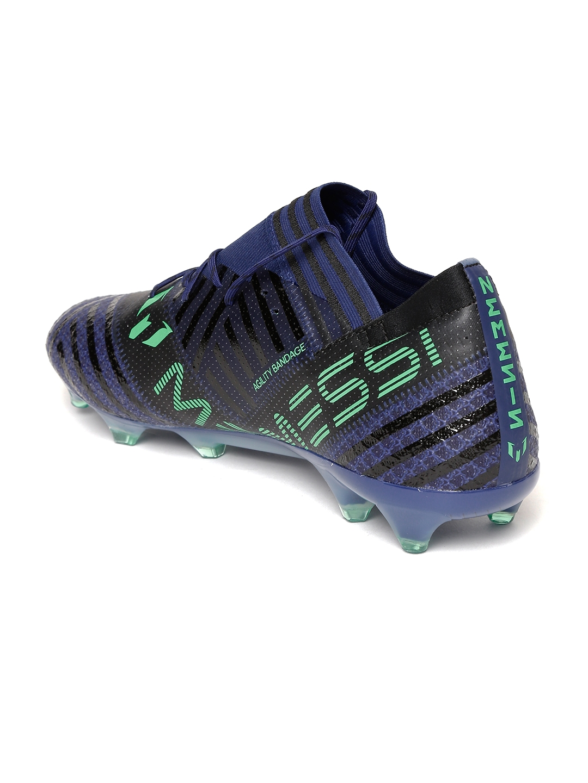 info for 82277 6bcd3 ADIDAS Men Blue   Green NEMEZIZ MESSI 17.1 Firm Ground Football Shoes