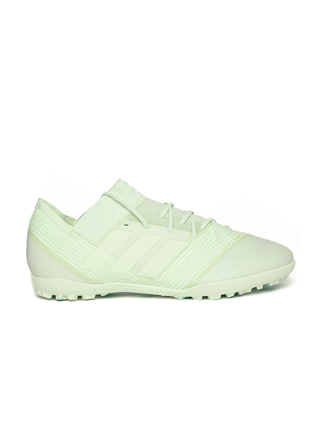 buy online 6f78d cd9fe ADIDAS Men Light Green NEMEZIZ Tango 17.3 Turf Shoes