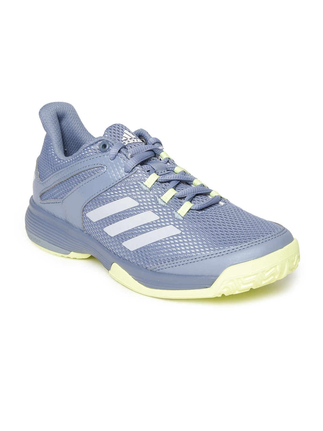 99598ffb61b9 Buy ADIDAS Kids Grey ADIZERO CLUB K Tennis Shoes - Sports Shoes for ...