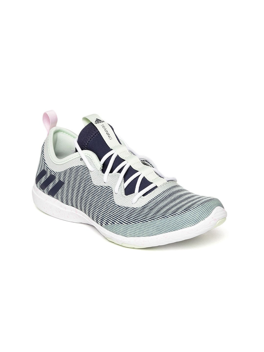 85fc07ff54d Buy ADIDAS Women Green   Navy CRAZYMOVE Training Shoes - Sports ...
