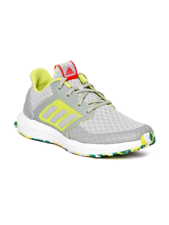 90235afadb2e Buy ADIDAS Kids Grey   Fluorescent Green RapidaRun COOL Running ...