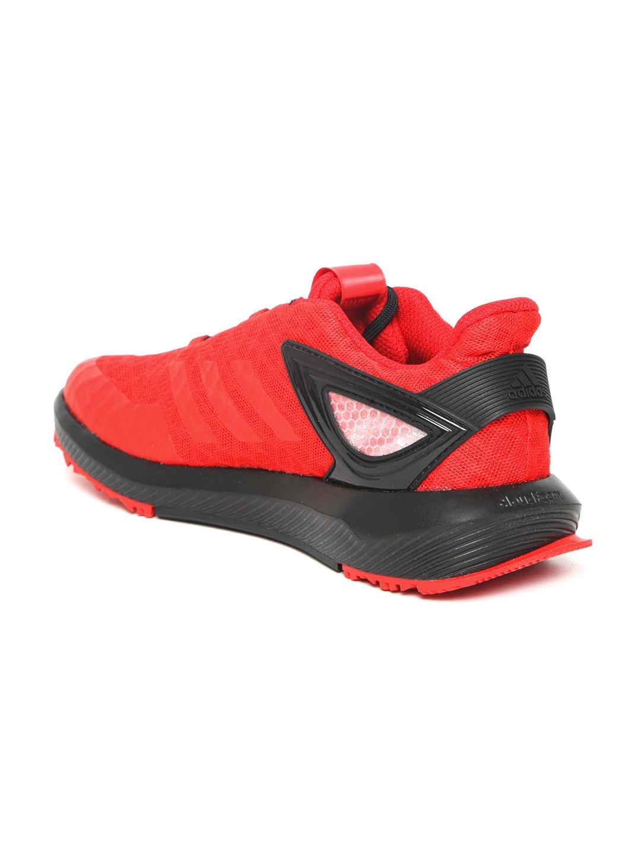 best service 65522 41e1d ADIDAS Kids Red  Black Spider-Man RapidaRun Running Shoes