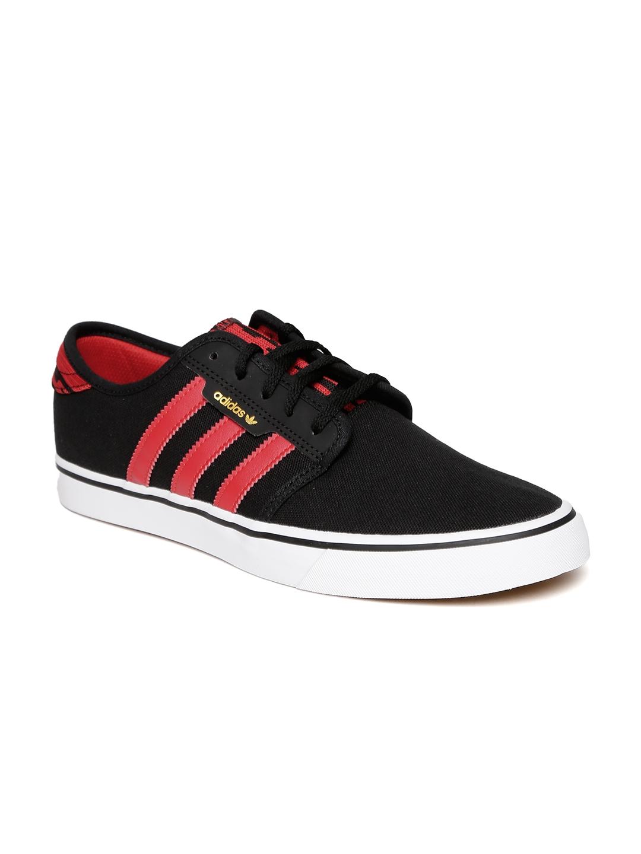 ee59997e5c1 Buy ADIDAS Originals Men Black SEELEY Skateboarding Shoes - Sports ...