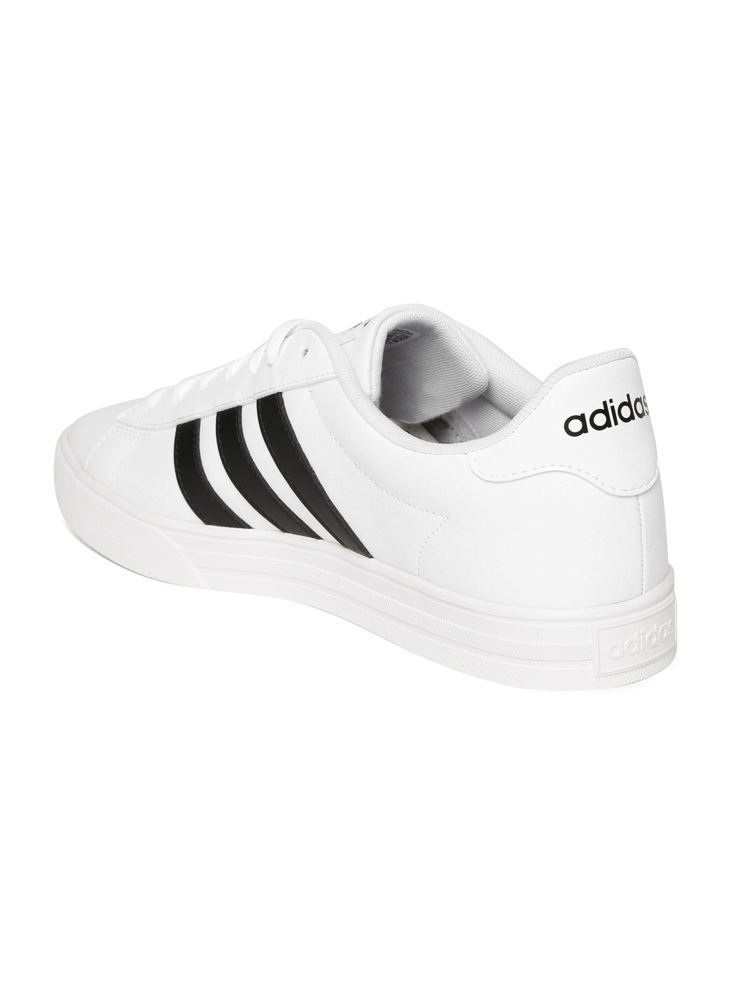 bbc53b14f41 Buy ADIDAS Men White DAILY 2.0 Leather Sneakers - Casual Shoes for ...