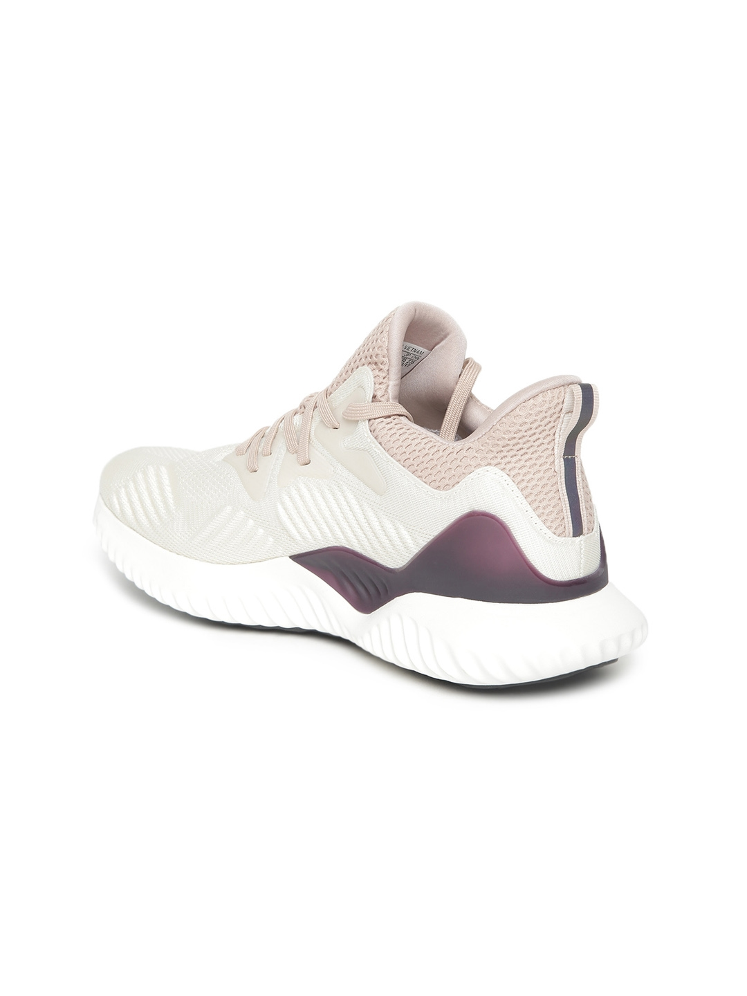 78f552123 Buy ADIDAS Women Beige   White ALPHABOUNCE BEYOND W Running Shoes ...