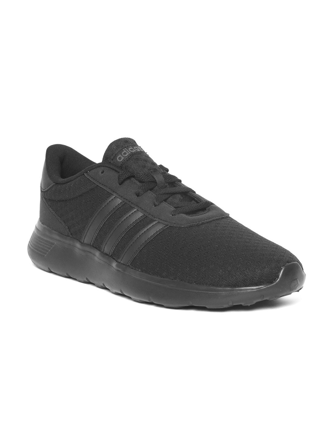cf64556f26c Buy ADIDAS Unisex Black Lite Racer Running Shoes - Sports Shoes for ...
