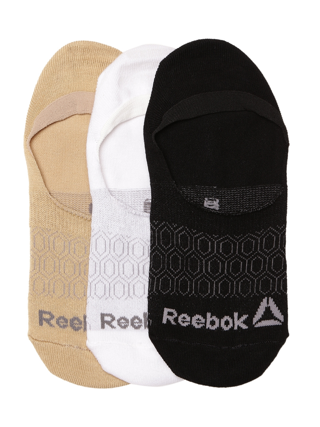 Buy Reebok Women NO SHOW Set Of 3 Shoeliners - Socks for Women ... 0d2f0b95b