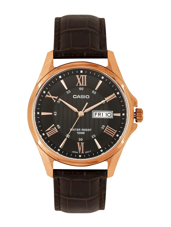 Casio Enticer Men Black Analogue watch A881 MTP 1384L 1AVDF