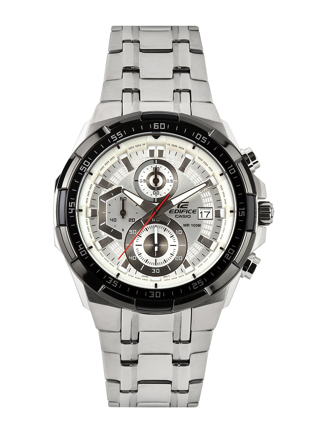 Buy Casio Edifice Men Silver Analogue Watches (EX192) EFR 539D 7AVUDF -  Watches for Men  41dacb5cc