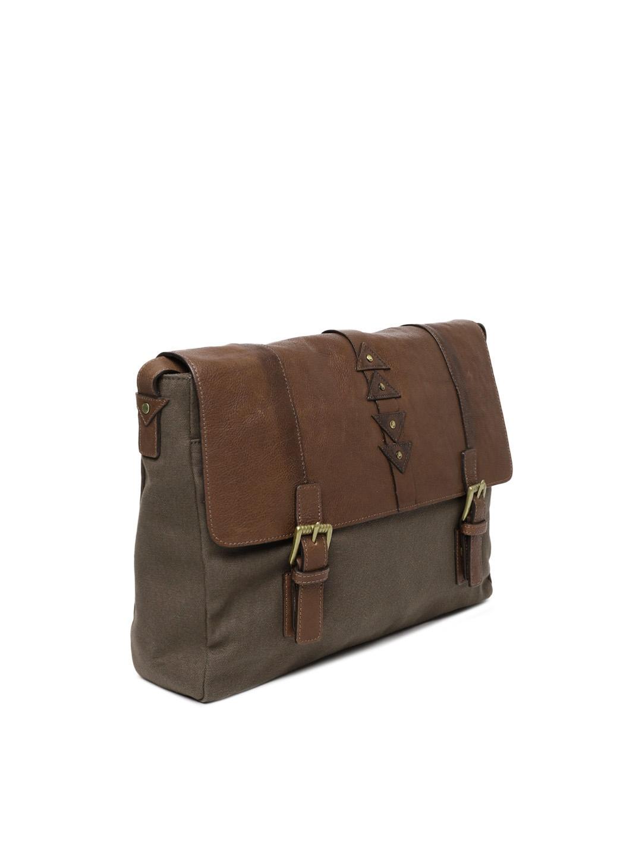 96f1ecc116 Buy Hidesign Men Tan Brown Solid Laptop Bag - Laptop Bag for Men ...