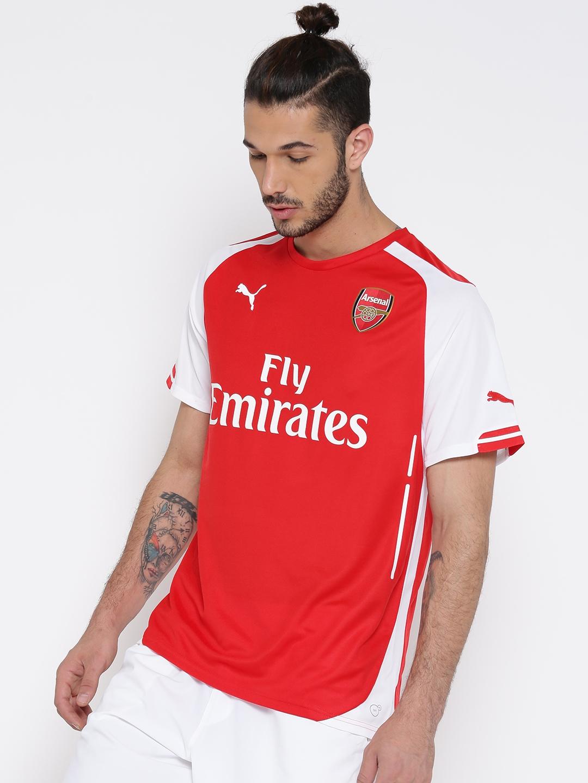 27320dbfee5562 Buy Puma Men Red AFC Home Replica T Shirt - Tshirts for Men 366069 ...
