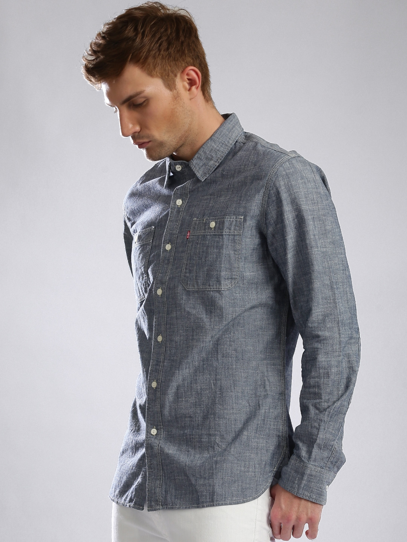 026790148951 Levis Slim Fit Mens Denim Shirt