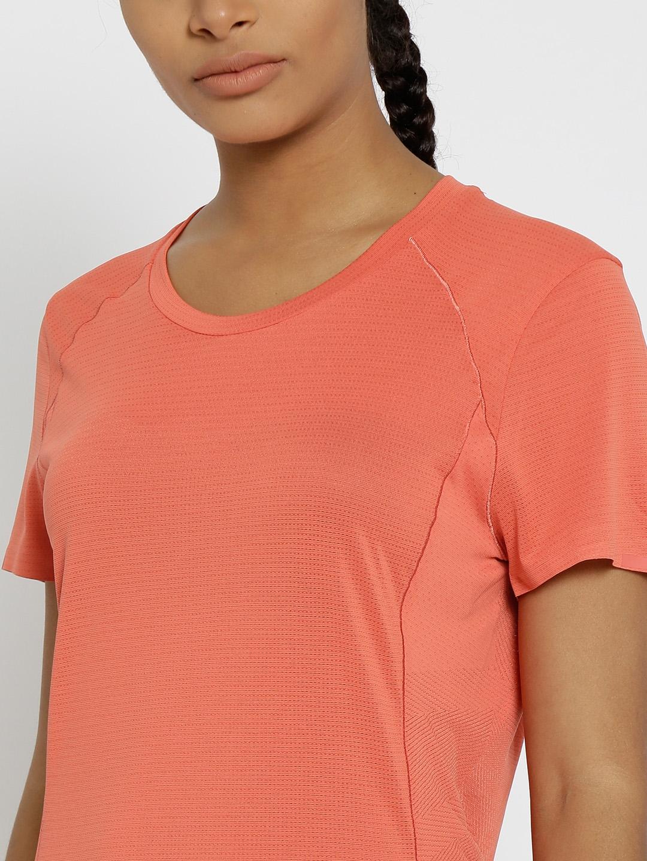b2888fb3f45c1 Buy ADIDAS Women Coral Red FR Supernova SS Running T Shirt - Tshirts ...