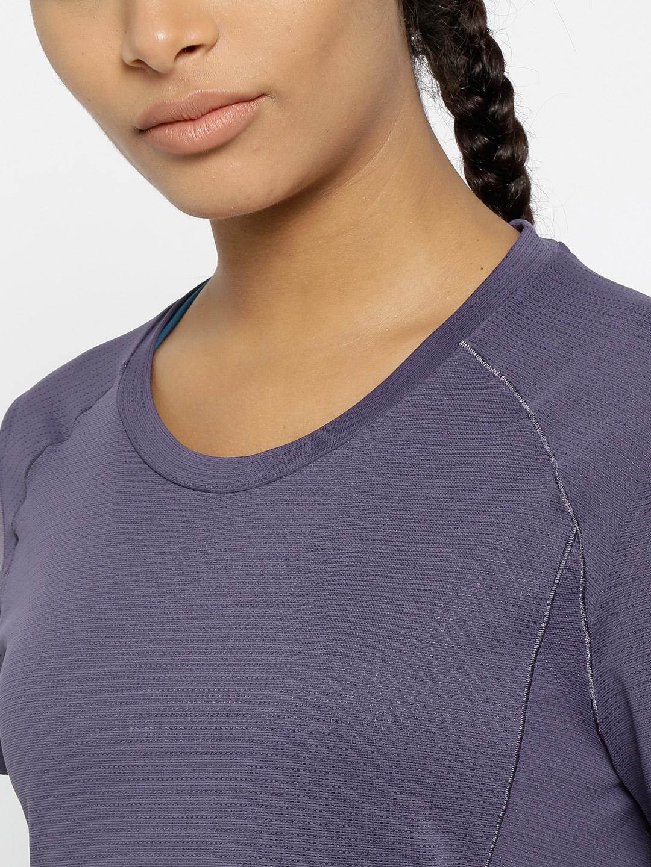 f43ccb89cebe5 Buy ADIDAS Women Purple FR Supernova SS Running T Shirt - Tshirts ...