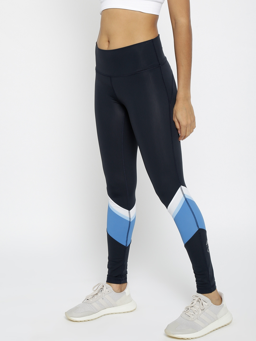 3257d2f8ccf4d Buy ADIDAS Navy Wanderlust P Long Training Tights - Tights for Women ...