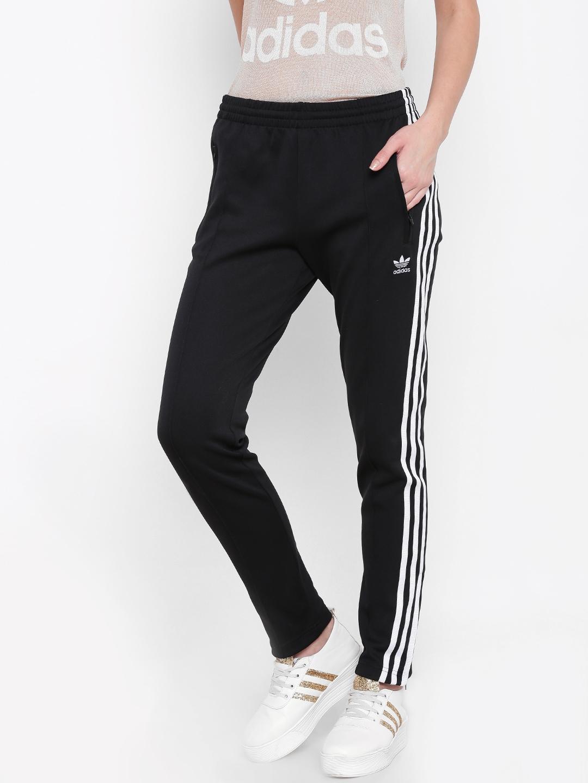 a4849953fad Buy ADIDAS Originals Women Black SST Slim Fit Track Pants - Track ...