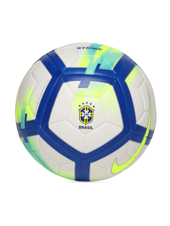b87dde7b67ad4 Buy Nike Unisex Blue   White CBF NK STRK Printed Football ...