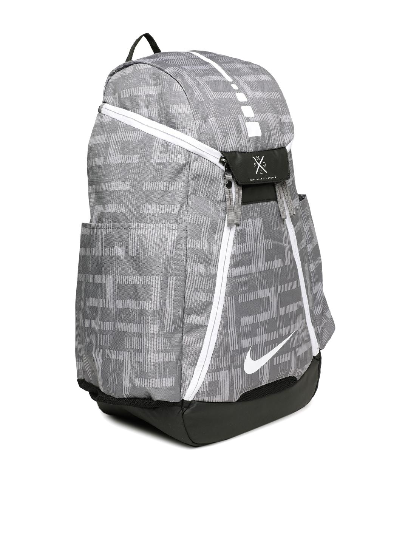 ccf69ece6afd Buy Nike Unisex Grey ELT MAX AIR BKPK AOP Graphic Backpack ...