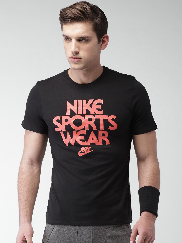 Buy Nike Men Black Printed AS M NSW TEE CNCPT BLUE 2 T Shirt ... 767f9da01