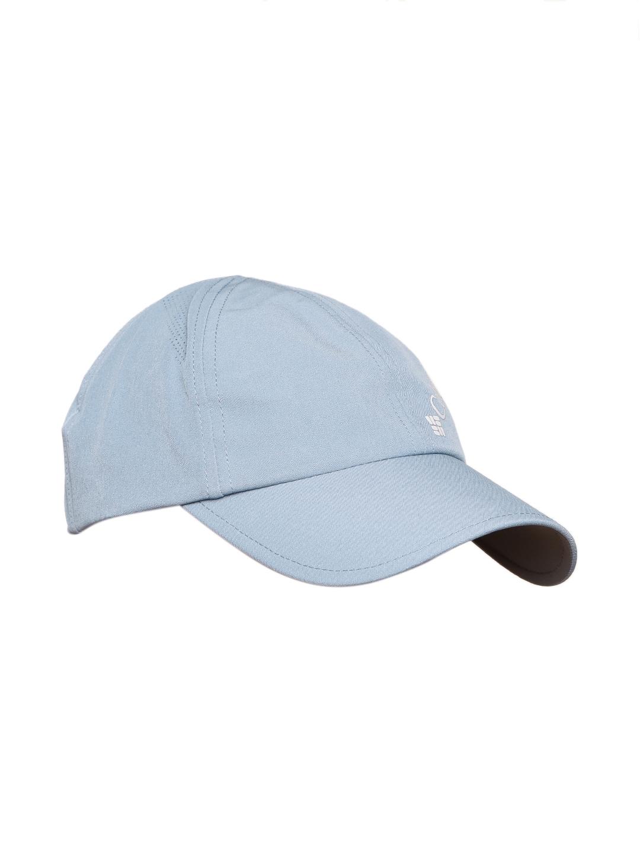 d8e6f7752f0 Buy Columbia Women Blue Solid Silver Ridge Baseball Outdoor Cap ...