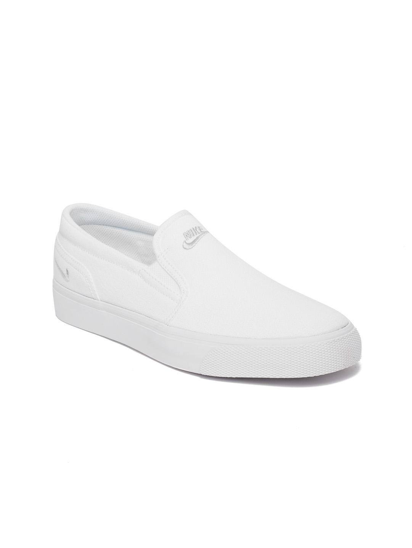 Buy Nike Women White Toki Slip On