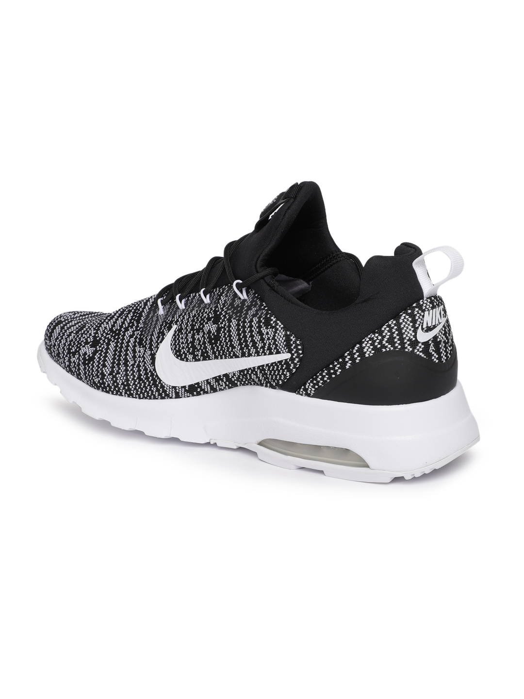 c9ddfb4ad5 Buy Nike Men Black & White Air Max Motion Racer Sneakers - Casual ...