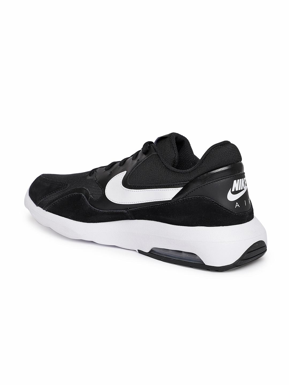 promo code b661b 6fccd Nike Men Black Air Max Nostalgic Sneakers