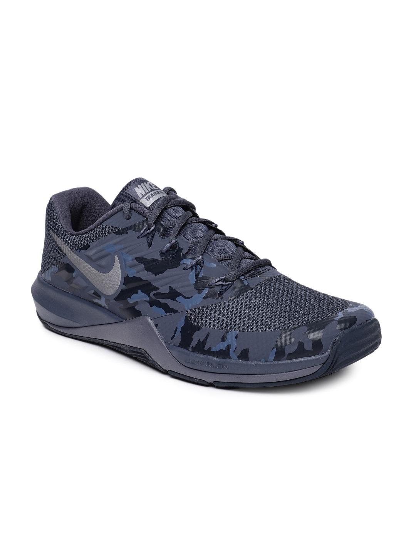 sale retailer 545da d5274 Nike Men Navy Blue Lunar Prime Iron II Training Shoe