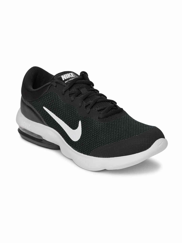 brand new 62a4f b2664 Nike Men Black Air Max Advantage Running Shoes