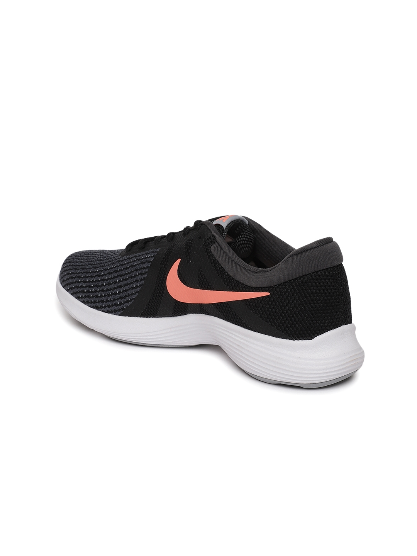 9337c86044b1 Buy Nike Women Grey   Black Revolution 4 Running Shoes - Sports ...