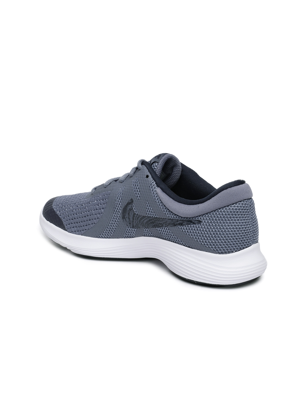 a899d0a4cf7 Buy Nike Boys Grey Revolution 4 (GS) Running Shoes - Sports Shoes ...