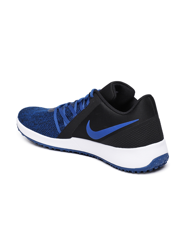 fa6bb40f5e47 Buy Nike Men Blue   Black Varsity Compete Trainer Shoes - Sports ...