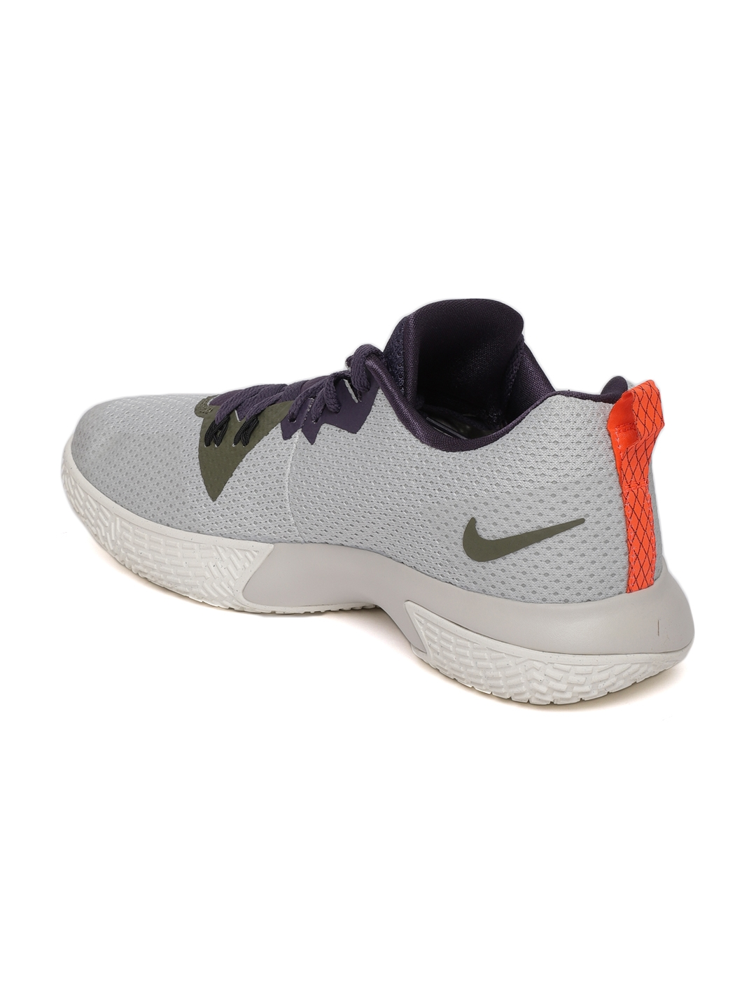 Buy Nike Men Grey   Navy Zoom Live II Basketball Shoes - Sports ... 99b8120d89a