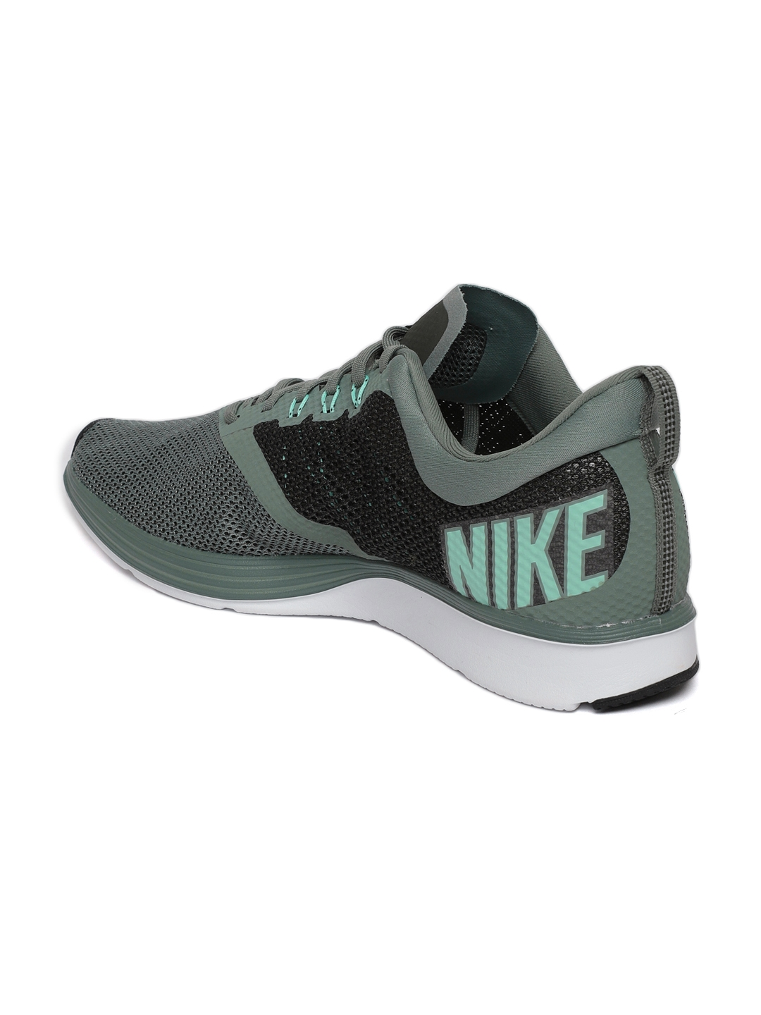415fc30ceaf8f Buy Nike Men Green Zoom Strike Running Shoes - Sports Shoes for Men ...