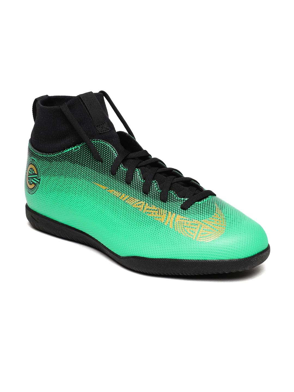 beed2bb27abb4 Buy Nike Kids Green SUPERFLY 6 CLUB CR7 IC Football Shoes - Sports ...