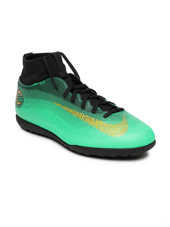 f3dba4cc1ad Buy Nike Kids Green SUPERFLY 6 CLUB CR7 TF Football Shoes - Sports ...