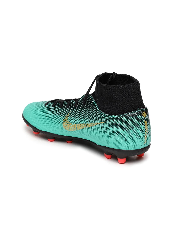 6791ab881 Buy Nike Unisex Green & Black SUPERFLY 6 CLUB CR7 FG/MG Football ...