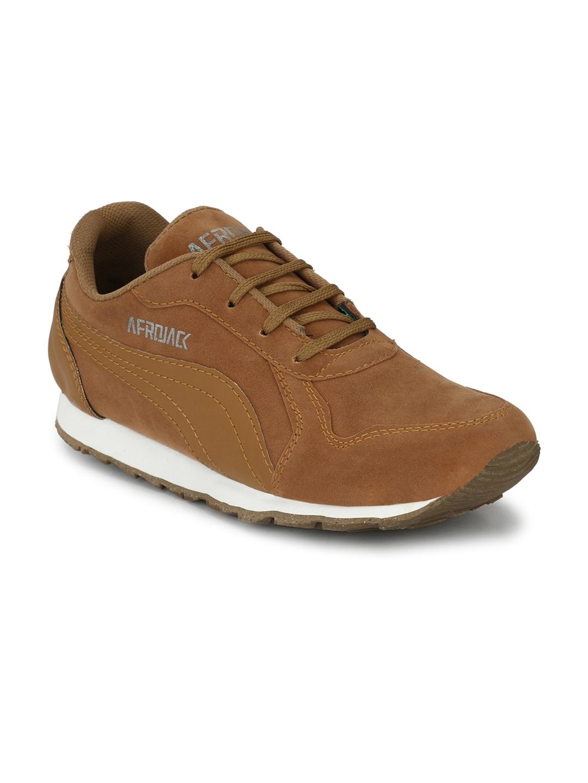 b244e7ca08ede Buy AfroJack Men Tan Sneakers - Casual Shoes for Men 4115130