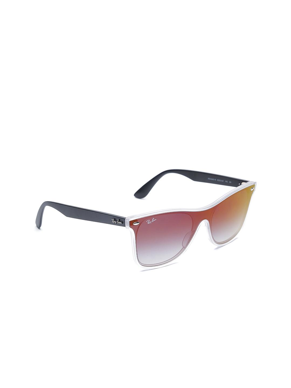 20d6cf3031 Buy Ray Ban Unisex UV Protected Wayfarer Sunglasses 0RB4440N6355U041 ...